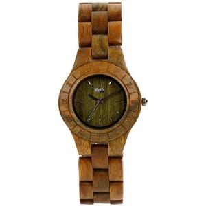 montre en bois originale bracelet moon