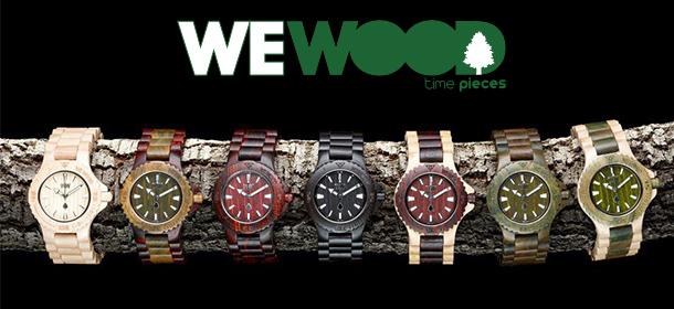 montres marque wewood en bois